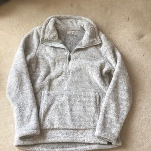 Super soft LL Bean fleece pullover
